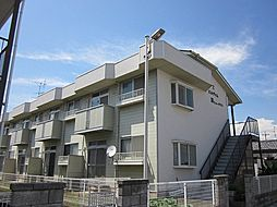 埼玉県春日部市藤塚の賃貸アパートの外観