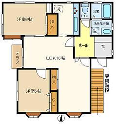 マーブルハウス 101[1階]の間取り