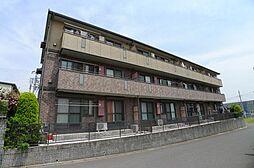千葉県流山市前平井の賃貸アパートの外観