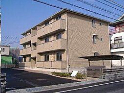 広島県福山市東深津町2丁目の賃貸アパートの外観