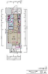 JR中央本線 大曽根駅 徒歩7分の賃貸マンション 5階1Kの間取り