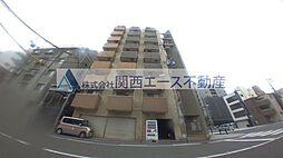 ラシーヌ天王寺[6階]の外観