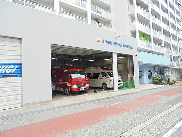 神戸市消防局東灘消防署青木出張所(900m)