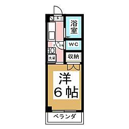シャンブル21[1階]の間取り