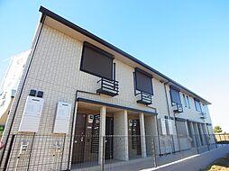千葉県野田市清水公園東2丁目の賃貸アパートの外観