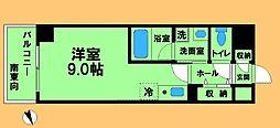JR横浜線 八王子みなみ野駅 徒歩3分の賃貸マンション 4階ワンルームの間取り