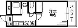 フォルテ湘南台[2階]の間取り
