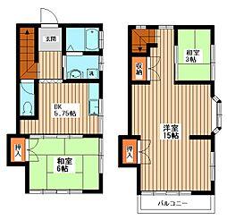 [テラスハウス] 千葉県我孫子市緑2丁目 の賃貸【/】の間取り