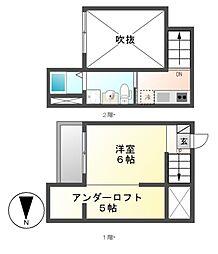 Cielo verde(シエロ・ヴェルデ)[1階]の間取り