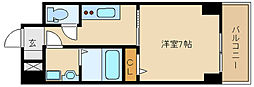 兵庫県尼崎市昭和南通4の賃貸マンションの間取り