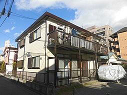 神奈川県川崎市中原区新城5丁目の賃貸アパートの外観