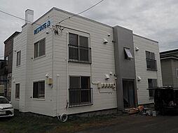 北海道札幌市北区新琴似九条14丁目の賃貸アパートの外観