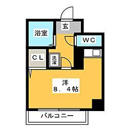 コスモメゾン・アキヤマ[8階]の間取り
