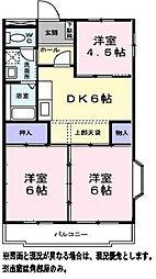 神奈川県横浜市旭区本宿町の賃貸マンションの間取り