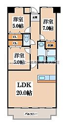MIITAKAI[2階]の間取り