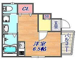 [タウンハウス] 兵庫県神戸市東灘区魚崎南町8丁目 の賃貸【/】の間取り
