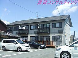三重県度会郡玉城町佐田の賃貸アパートの外観