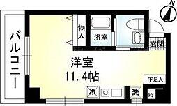 サンソレイユK[2階]の間取り