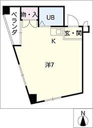 名藤マンション[5階]の間取り