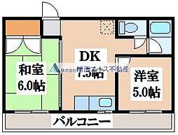 BFレジデンス京橋[3階]の間取り
