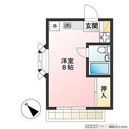 セジュール玉井[2階]の間取り