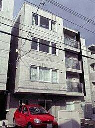 クレセント新札幌[302号室]の外観