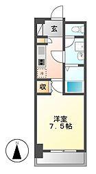 meLiV鶴舞(旧アーデン鶴舞)[8階]の間取り