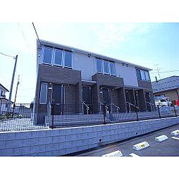 福島県郡山市日和田町の賃貸アパートの外観