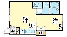 丸山駅 3.4万円