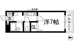 リバティハイム櫻井II(サクライ)[1階]の間取り