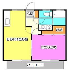 Aifort.所沢II[2階]の間取り