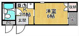 ホーム21新之栄[3階]の間取り