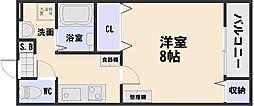 レ・フォレスト・k[2階]の間取り