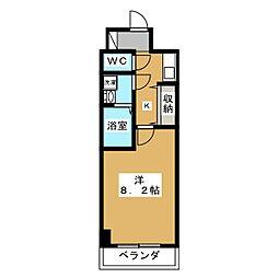 サムティ京都御池[3階]の間取り