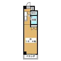 みつまめ京都[3階]の間取り