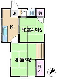 石坂方[2階]の間取り