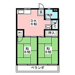 OS・SKYマイネビル[4階]の間取り