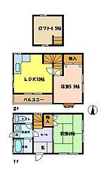 [一戸建] 埼玉県さいたま市中央区鈴谷5丁目 の賃貸【/】の間取り