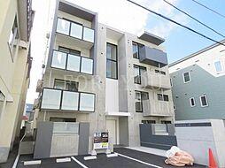 北海道札幌市豊平区月寒東四条6丁目の賃貸マンションの外観