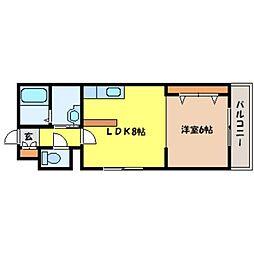 北海道札幌市北区北二十六条西7丁目の賃貸マンションの間取り