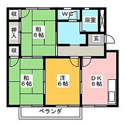 エクセル141[1階]の間取り