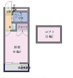 フォーレスト新松戸[1階]の間取り