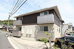 福岡県北九州市若松区古前1丁目の賃貸アパートの外観