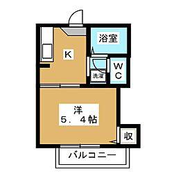 BLOOM COURT[2階]の間取り