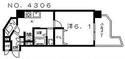 SWISS 天王寺I[7階]の間取り