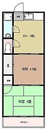 第一松尾ビル[2階]の間取り