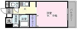 スプルース泉ヶ丘2[1階]の間取り