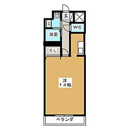 リヨーアイ[6階]の間取り