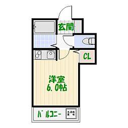 ランド・9堀切[0103号室]の間取り