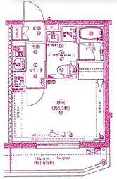 スパシエガーデン川崎梶ヶ谷[2階]の間取り